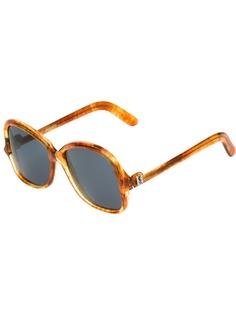 Yves Saint Laurent Pre-Owned солнцезащитные очки бабочка
