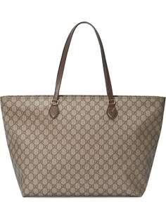 Gucci сумка-тоут среднего размера с узором GG