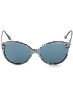 Pierre Cardin Pre-Owned солнцезащитные очки в круглой оправе