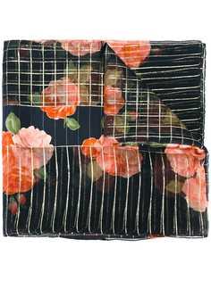 Yves Saint Laurent Pre-Owned шарф с цветочным рисунком