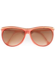 "Versace Pre-Owned солнцезащитные очки ""бабочка"""