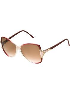 Balenciaga Pre-Owned солнцезащитные очки бабочка