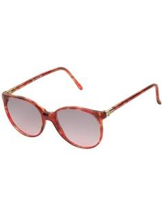 Lanvin Pre-Owned круглые солнцезащитные очки