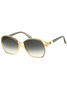 Christian Dior Pre-Owned солнцезащитные очки бабочка