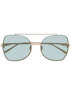 Tom Ford Eyewear солнцезащитные очки в квадратной оправе