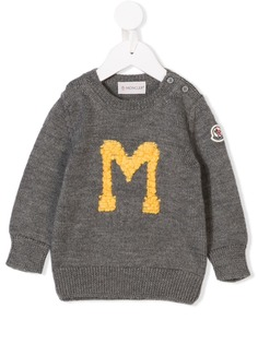 Moncler Kids свитер с вязаной M