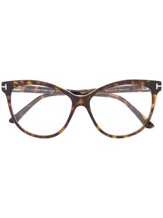 "Tom Ford Eyewear ""очки в оправе """"кошачий глаз"""""""