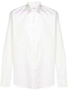 Salvatore Ferragamo рубашка с принтом логотипом