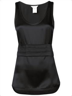 Max Mara блузка с плиссированными деталями