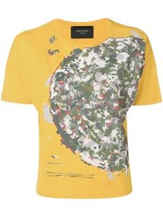 Mr & Mrs Italy футболка с камуфляжным принтом