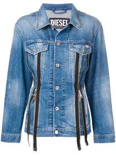 Diesel джинсовая куртка на молнии