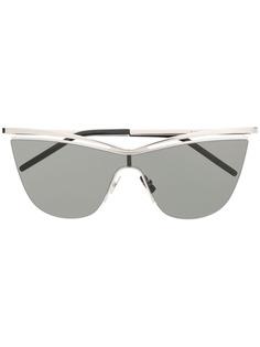 Saint Laurent Eyewear массивные солнцезащитные очки