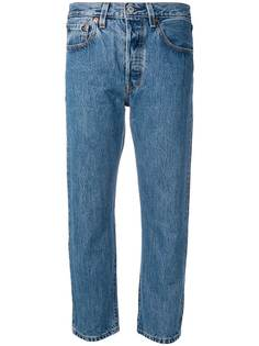 Levis укороченные джинсы