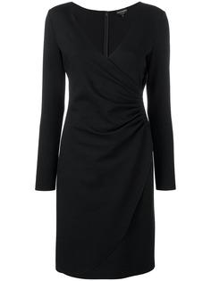 Emporio Armani платье с запахом спереди
