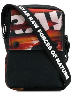 G-Star Raw Research printed messenger bag