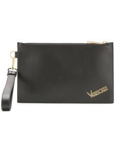 Versace клатч с логотипом