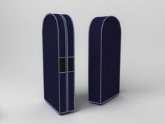 Чехол двойной для одежды большой, 60х130х20 см Co Fre T