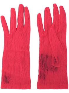 Gucci кружевные перчатки