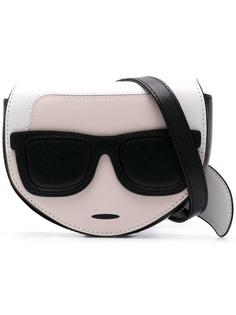 Karl Lagerfeld поясная сумка K/Ikonik
