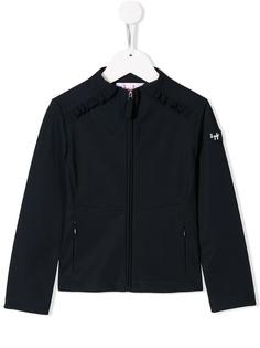 Il Gufo куртка-бомбер с оборками