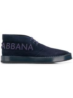 Dolce & Gabbana высокие кроссовки с логотипом