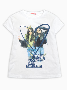 """Джемпер (модель """"футболка"""") для девочек """"limited edition"""" Pelican"""