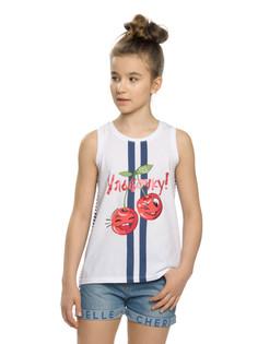 """Майка для девочек """"вишневые паруса"""" Pelican"""