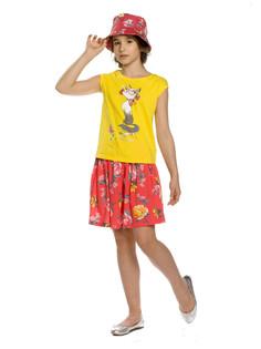 """Комплект для девочек """"апельсиновый dolce"""" Pelican"""