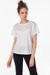 Белая мастхэв блуза футболка оверсайз Victoria Filippova