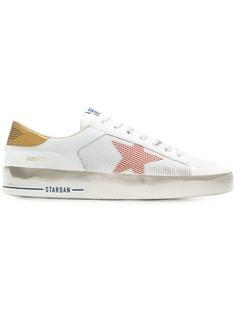 Golden Goose кроссовки с нашивками звезд