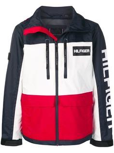 Tommy Hilfiger куртка с капюшоном и логотипом
