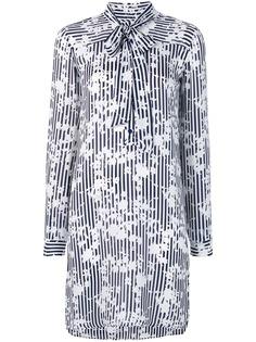 Michael Michael Kors платье-рубашка с цветочным принтом