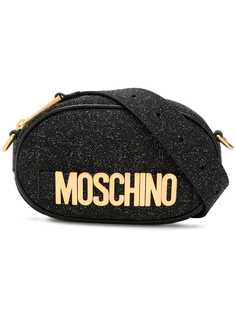 Moschino поясная сумка с блестками