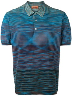 Missoni трикотажная рубашка-поло