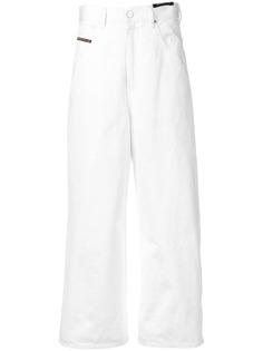Diesel укороченные широкие джинсы