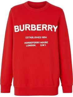 Burberry толстовка Horseferry с принтом