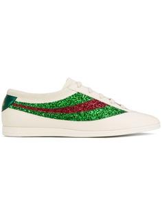 Gucci кроссовки Falacer с пайетками
