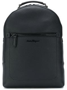 Salvatore Ferragamo рюкзак с вышитым логотипом