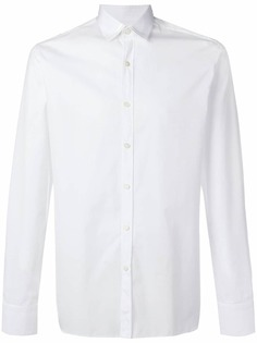 Lanvin рубашка с заостренным воротником