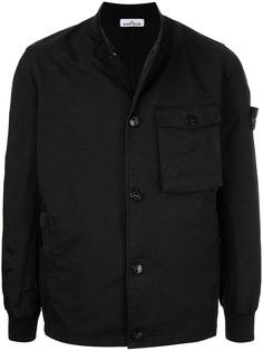 Stone Island базовая куртка-рубашка