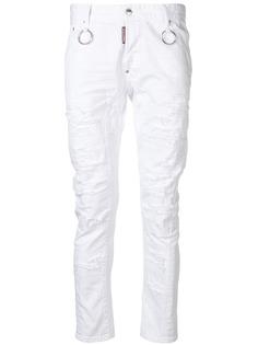 Dsquared2 джинсы скинни с заниженной талией