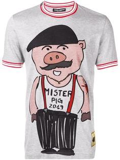 Dolce & Gabbana футболка с принтом Chinese New Year