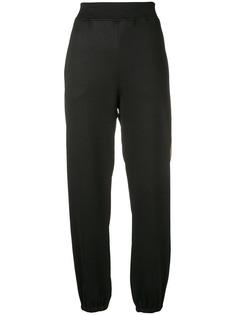 Moschino спортивные брюки с лампасами