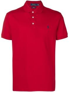 Polo Ralph Lauren рубашка-поло с вышитым логотипом