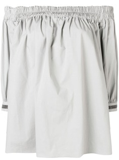 Fabiana Filippi блузка с открытыми плечами