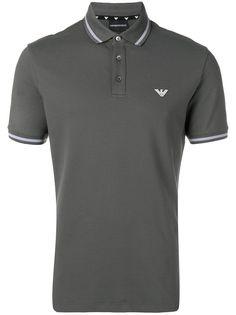 Emporio Armani рубашка-поло с логотипом