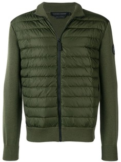 Canada Goose трикотажная куртка-пуховик
