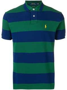Polo Ralph Lauren футболка-поло в полоску с логотипом