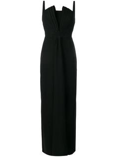Emporio Armani вечернее платье на бретелях