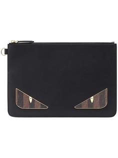 Fendi клатч в стилистике Bag Bugs